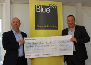 Wow… £8,000 raised from charity concert