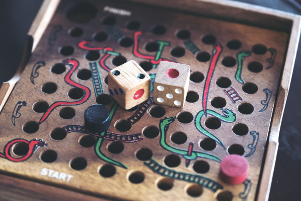 Life feels like a game of snakes and ladders